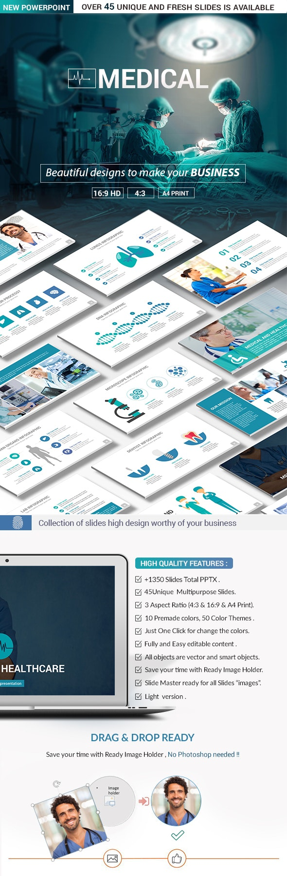 Medical PowerPoint Presentation Template - Creative PowerPoint Templates