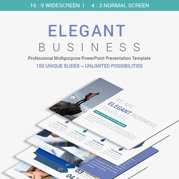 Elegant Business PowerPoint Presentation Template