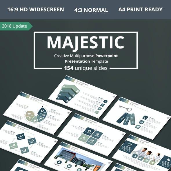 Majestic PowerPoint Presentation Template