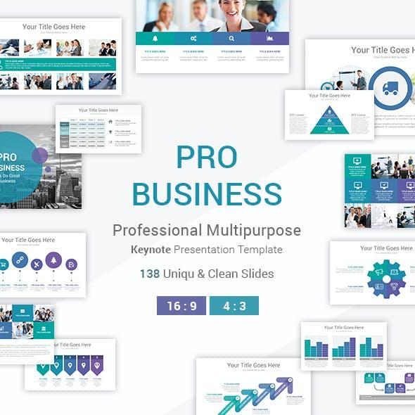 Pro Business Keynote Template