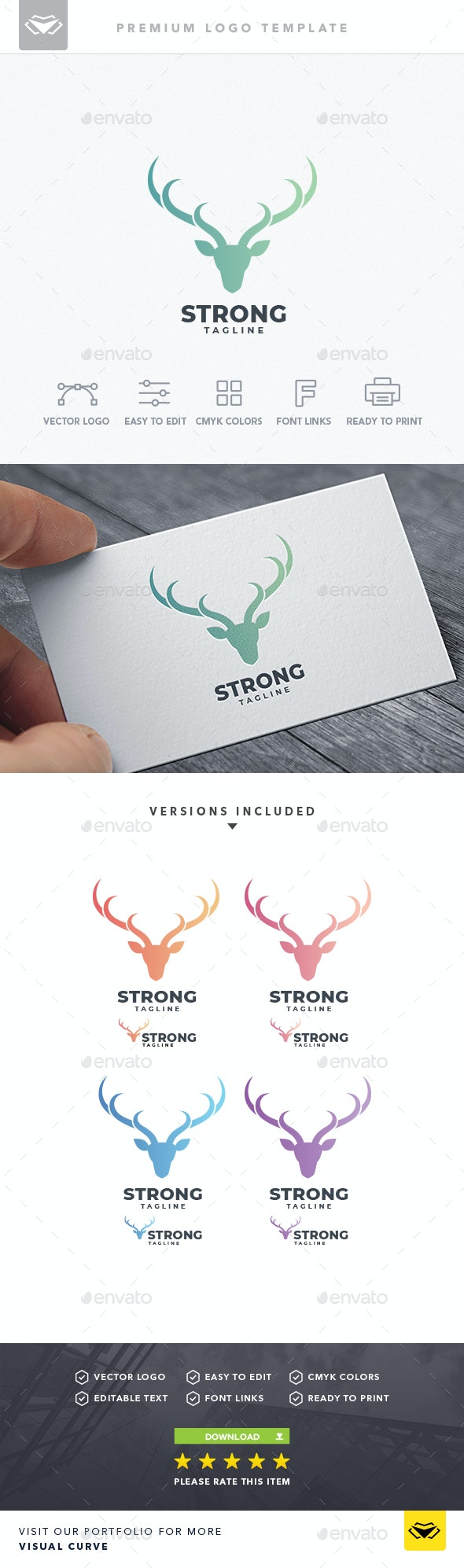 Strong Logo - Logo Templates