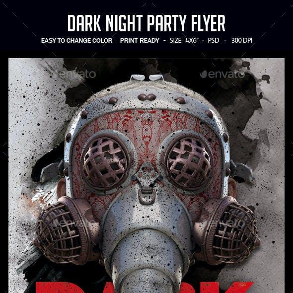 Dark Night Party Flyer