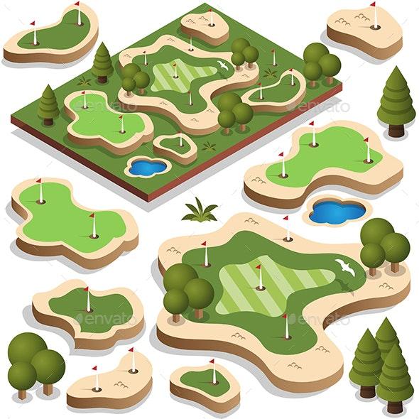 Golf Course - Sports/Activity Conceptual