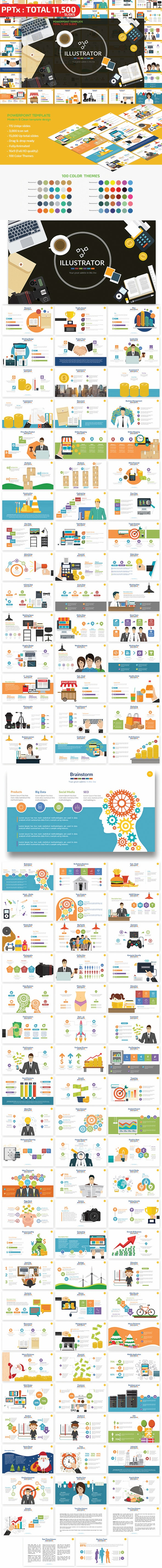 Illustrator Powerpoint Presentation - PowerPoint Templates Presentation Templates