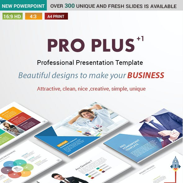 Pro Plus Business PowerPoint Presentation Template