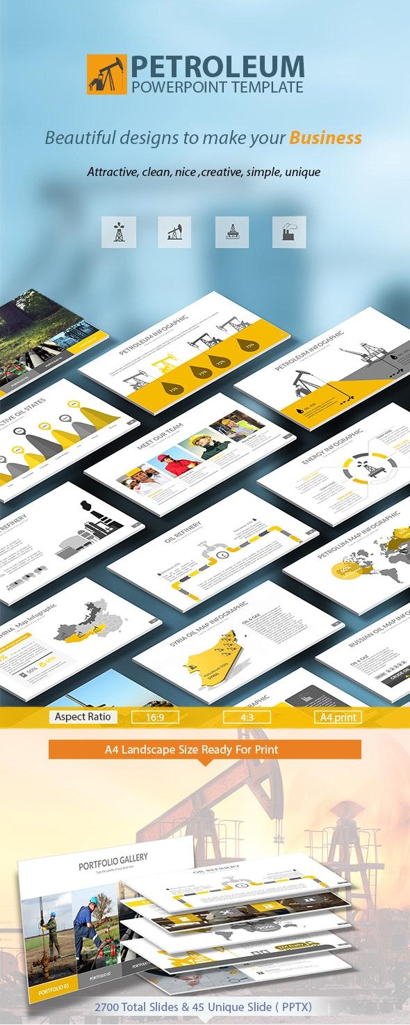 Petroleum Powerpoint Presentation Template - Business PowerPoint Templates