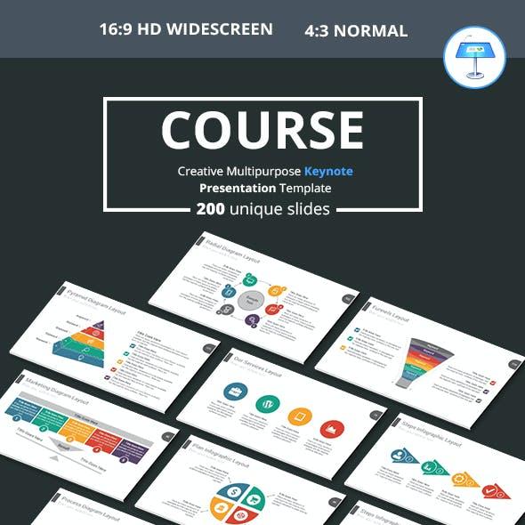 Course Multipurpose Keynote Presentation Template