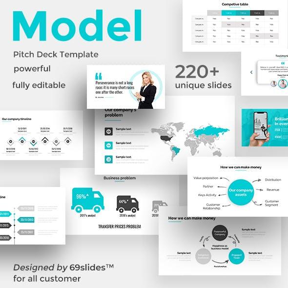Case Model Pitch Deck Google Slide Template