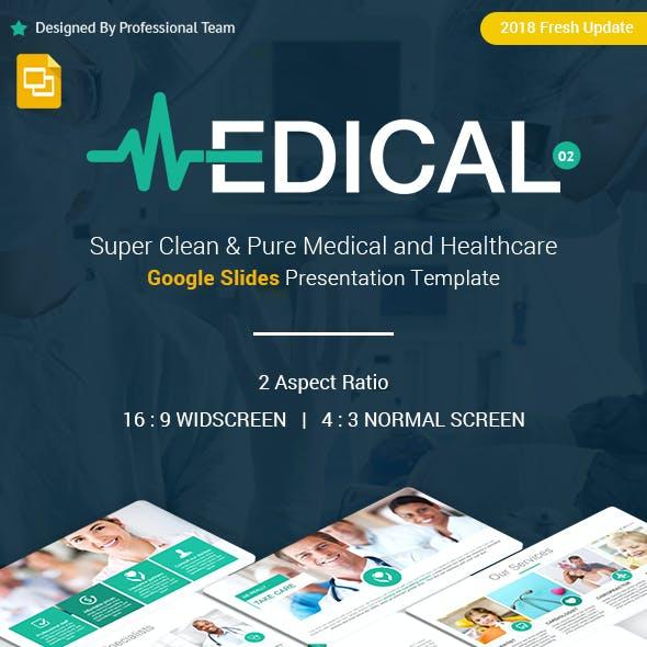 Medical and Healthcare Google Slides Presentation Template