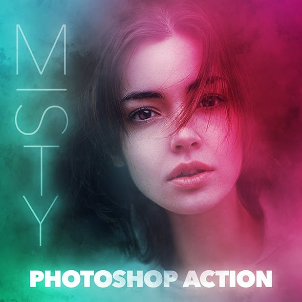 MISTY Photoshop Action