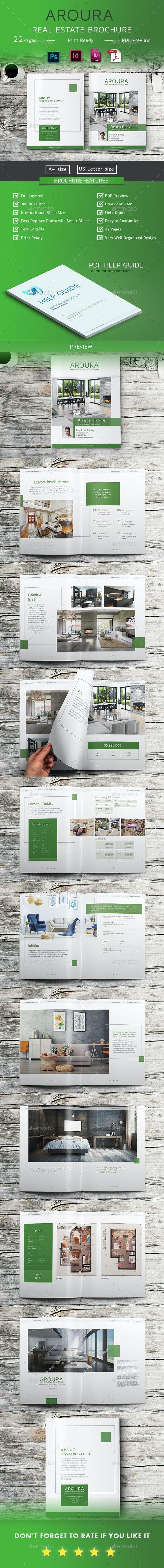 Real Estate Brochure - Aroura - Portfolio Brochures