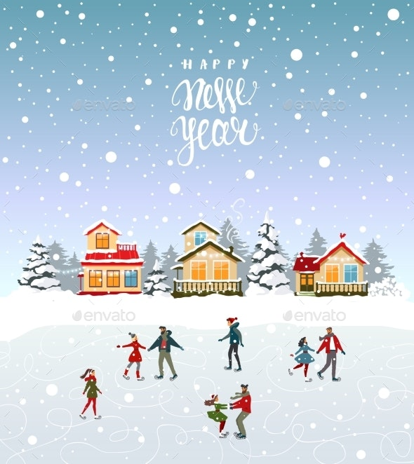 on the Rink City - New Year Seasons/Holidays