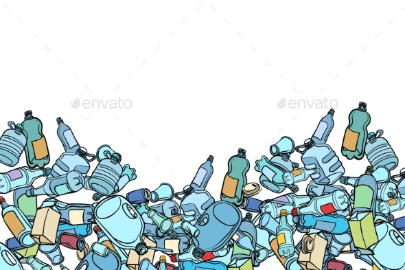 Plastic Trash Ecology and Pollution - Industries Business