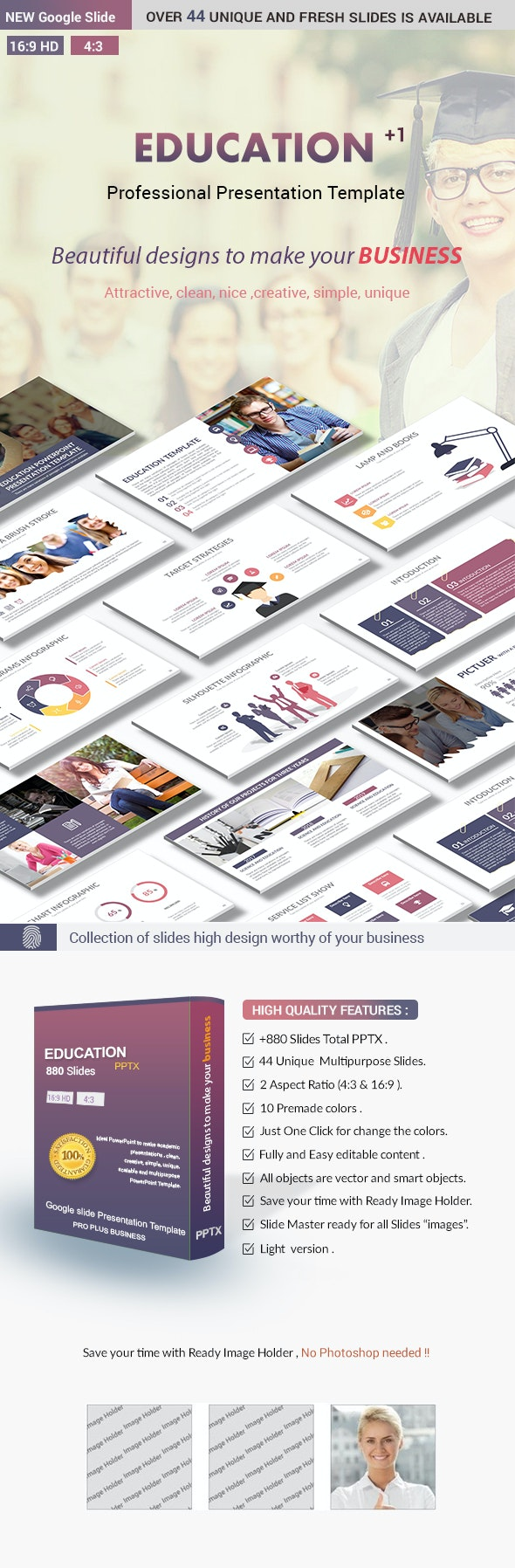 Education Google slides Presentation Template - Google Slides Presentation Templates