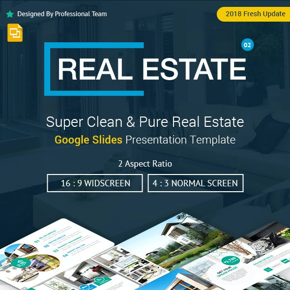 Creative Real Estate Google Slides Presentation Template