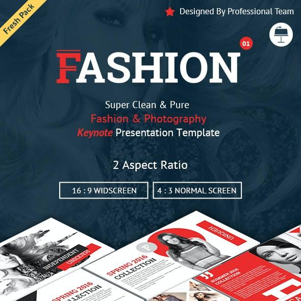 Fashion and Photography Keynote Presentation Template