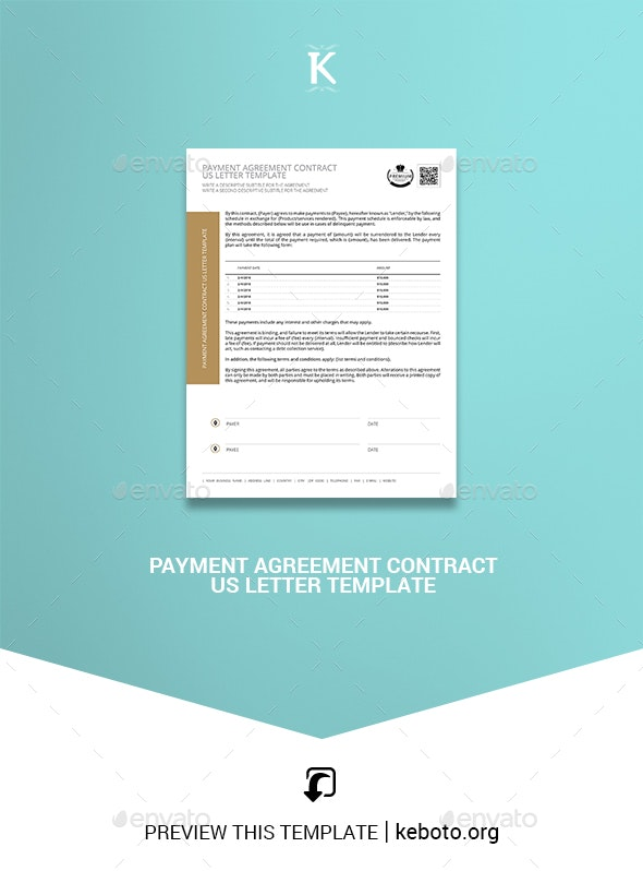 Letter Of Payment Agreement from graphicriver.img.customer.envatousercontent.com