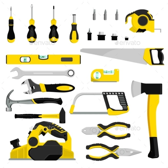 Hand Tool Vector Construction Handtools Hammer - Industries Business