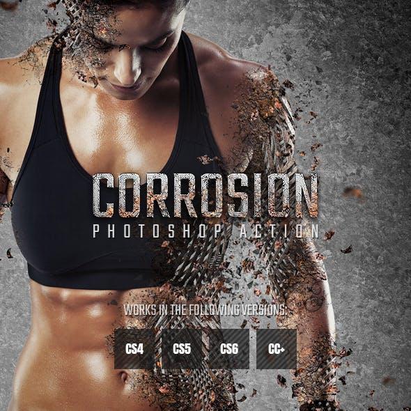 Corrosion Photoshop Action