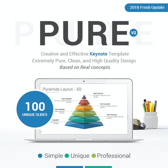 Pure Keynote Presentation Template