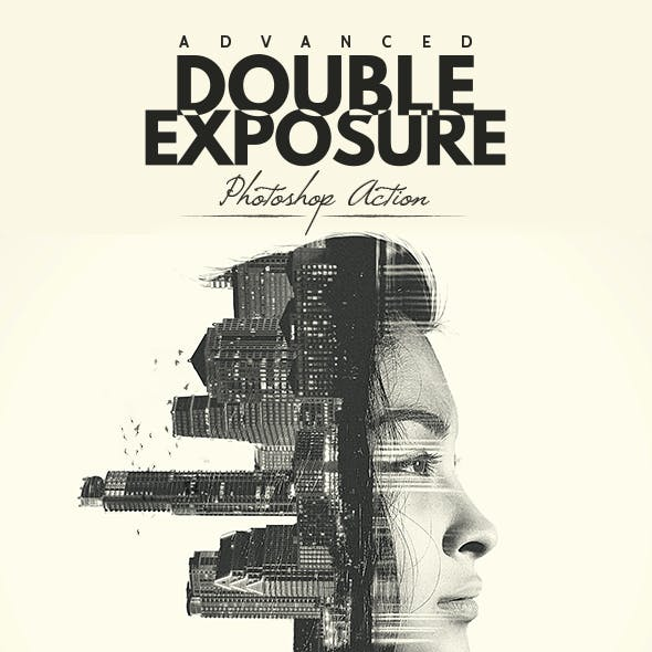Advanced Double Exposure - Photoshop Action