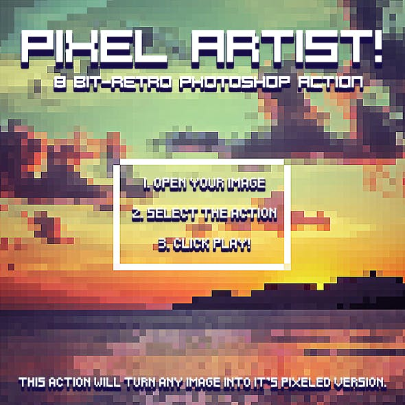 Pixel Art Maker Graphics, Designs & Templates from GraphicRiver