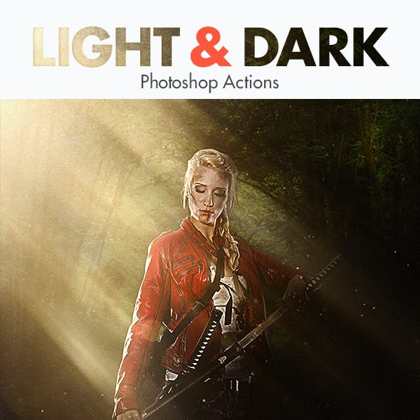 Light & Dark - Photoshop Actions