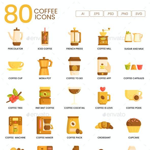Coffee Icons - Hazel