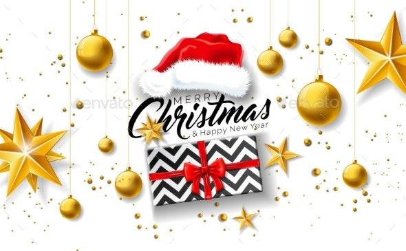 Merry Christmas Illustration - Christmas Seasons/Holidays
