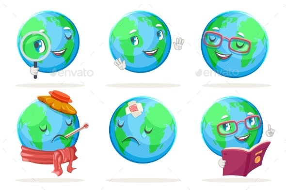 Ecology Emotion Nature Earth Globe - Miscellaneous Characters