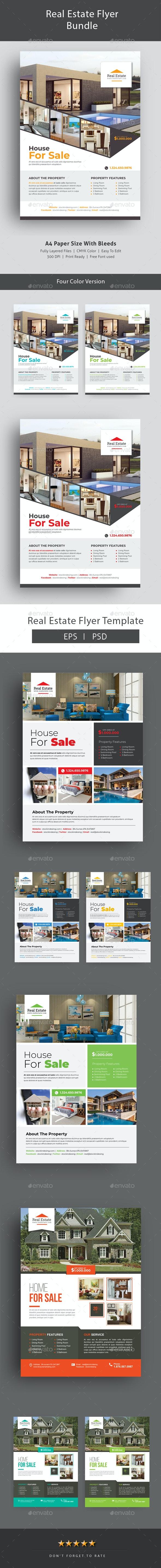 Real Estate Flyer Bundle - Corporate Flyers