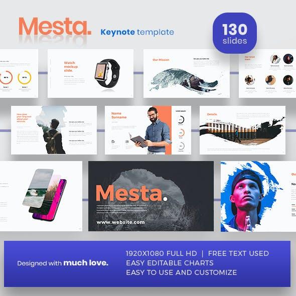 Mesta Keynote Presentation Template