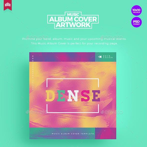 Dense - Music Album Cover Artwork