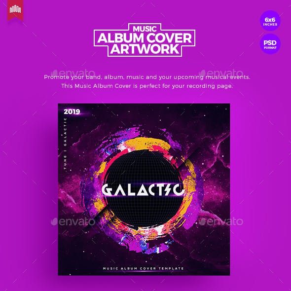 Galactic - Music Album Cover Artwork