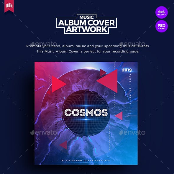 Cosmos - Music Album Cover Artwork