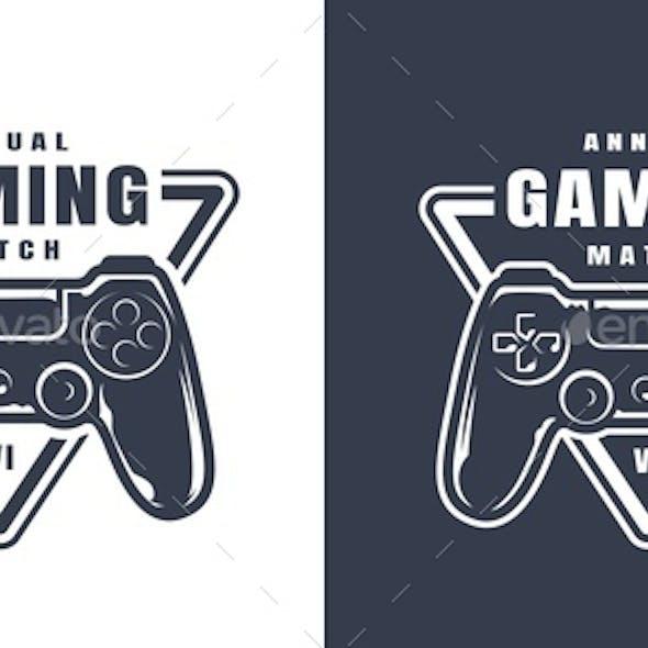 Vintage Game Controller Print