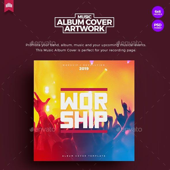 Worship - Music Album Cover Artwork