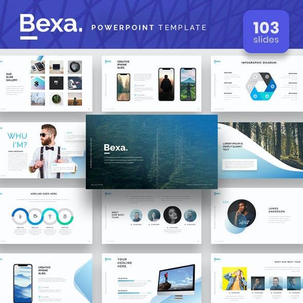 Bexa Powerpoint Presentation Template