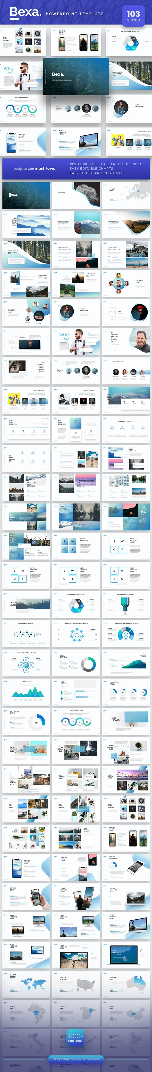 Bexa Powerpoint Presentation Template - PowerPoint Templates Presentation Templates