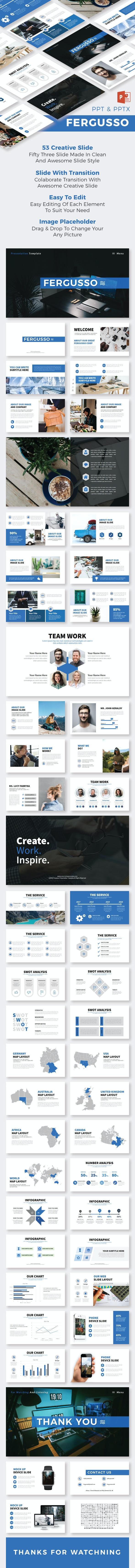 Fergusso PowerPoint Temp - Creative PowerPoint Templates