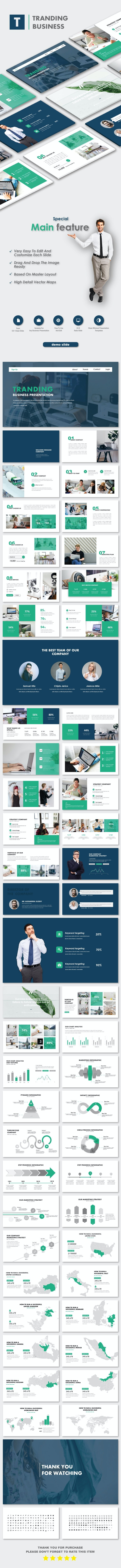 Tranding Business Google Slide Templates - PowerPoint Templates Presentation Templates