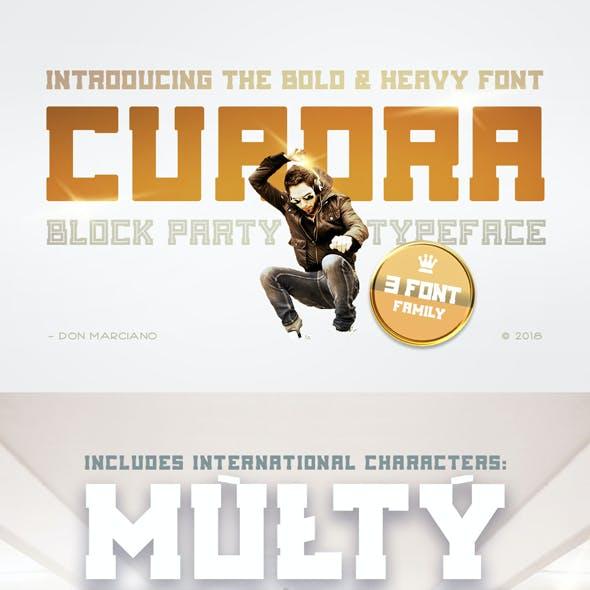 Cuadra Block Party Font