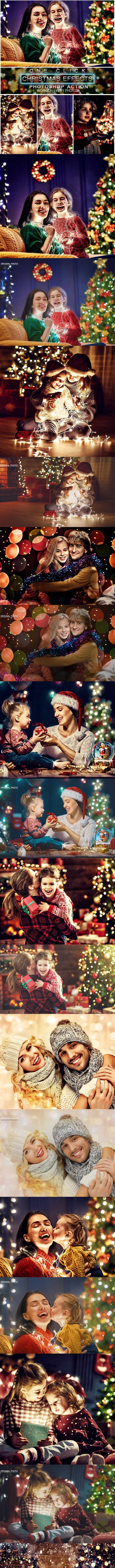 Christmas Photoshop Action - Actions Photoshop