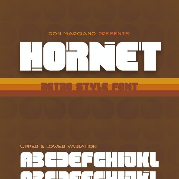 Hornet Retro Style Font