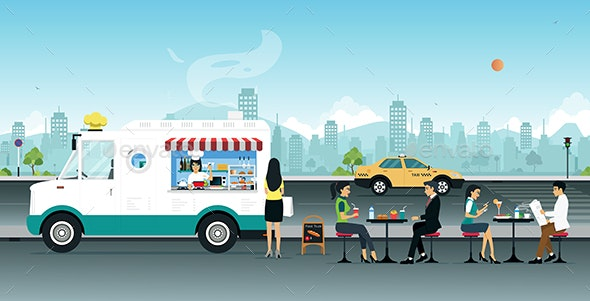 Food Truck - Food Objects