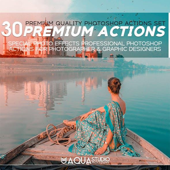 30 Premium Actions Set