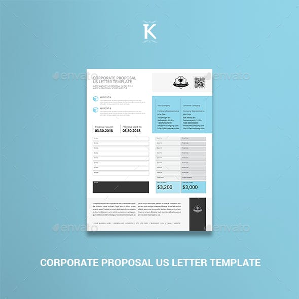 Corporate Proposal US Letter Template