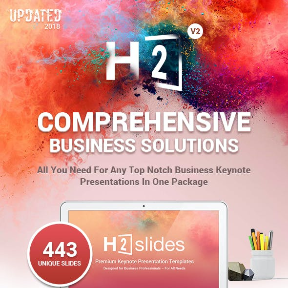 H2 Comprehensive Business Solutions Keynote Template