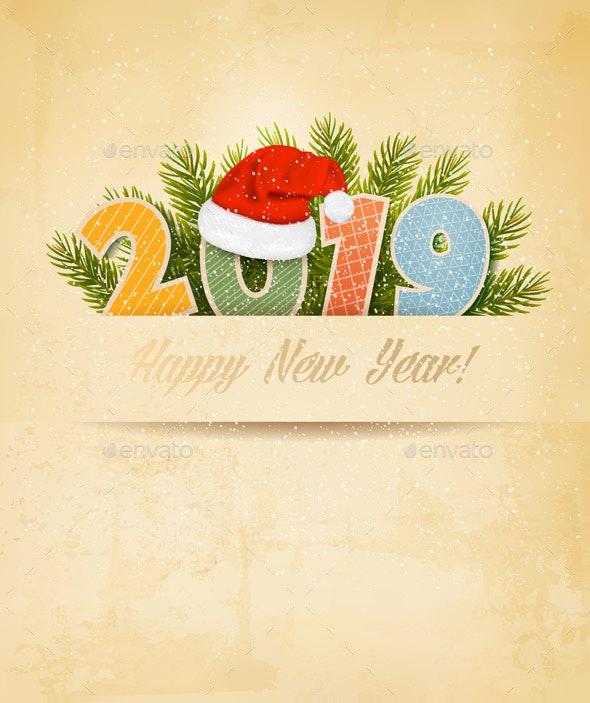 Merry Christmas Background - New Year Seasons/Holidays