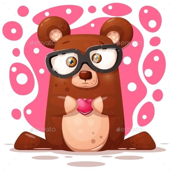 Bear Illustration. Animal Character. - Animals Characters